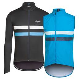 Sky Long Sleeve Brevet Jersey and Gilet